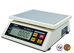 Intelligent XM-15 NTEP Legal for trade Portion Weigher scale, 30 lb x0.01 lb,15 kg x 5 g,Pan 10\