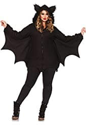 Leg Avenue Women's Plus Size Cozy Bat Costume