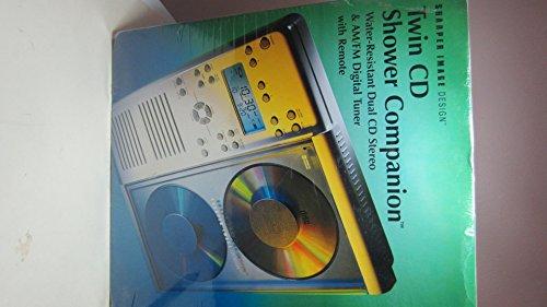 Sharper Image Twin CD Radio Shower Companion SI742 (Sharper Image Shower Radio compare prices)