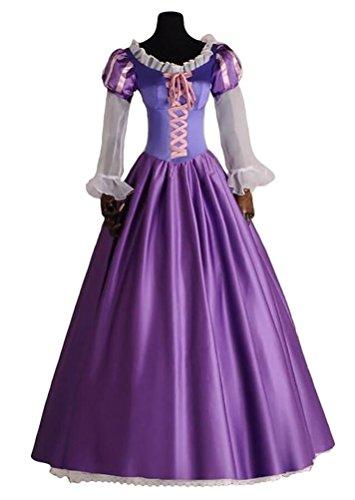 Halloween 2017 Disney Costumes Plus Size & Standard Women's Costume Characters - Women's Costume CharactersAdult Women's Halloween DeluxeTangle Rapunzel Princess Costume Custom Sized to Your Measurements