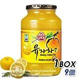 サンファ柚子茶1kg×9個【1BOX】