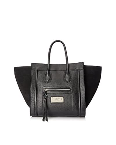 Valentino Bag by Mario Valentino Women's Cynthia Satchel, Black