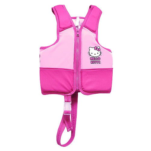 Hello-Kitty-Premium-High-Quality-Girls-Swim-Vest-With-Built-in-buoyant-foam-pad-inserts