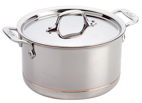 All-Clad Casserole 4 Quart Copper Core 6304SS