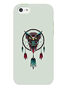 iPhone 5 5S Cover - Owl Dreamcatcher - Designer Printed Hard Shell Case