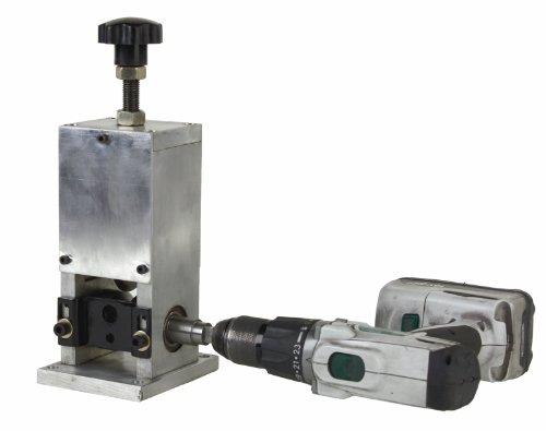 Benchtop Automatic Wire Stripping Machine Drill/Handle Strip Wire Scrap Copper