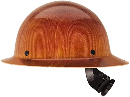 MSA 475407 Natural Tan Skullgard Hard Hat with Fas-Trac Suspension (Msa Hard Hat Full Brim compare prices)