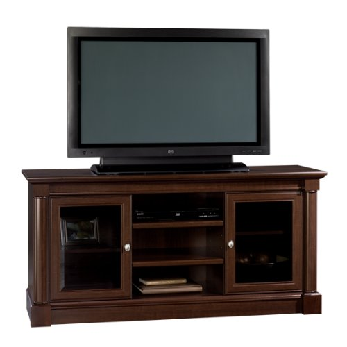 Bedding collections trends sauder palladia full size tv for Best tv stands review