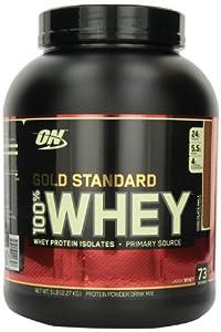 Optimum Nutrition 100% Whey Gold Standard, Chocolate Malt, 5 Pound