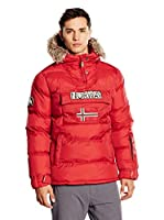 Geographical Norway Chaqueta Building (Rojo Oscuro)