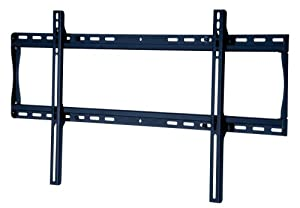 Peerless SF660P Universal Fixed Low-Profile Wall Mount for 39-Inch to 80-Inch Displays (Black/Non-Security)