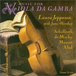 Music for Viola De Gamba