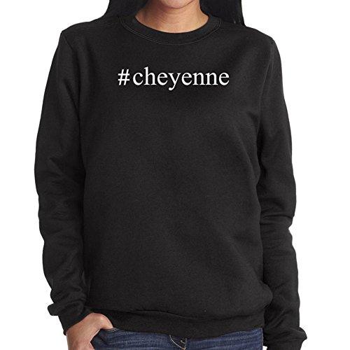 Felpa da Donna #Cheyenne Hashtag