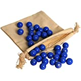 WE Games Replacement Glass Marbles for Solitaire
