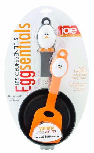 Eggsentials Egg Spatula Fry Pan Set by MSC International