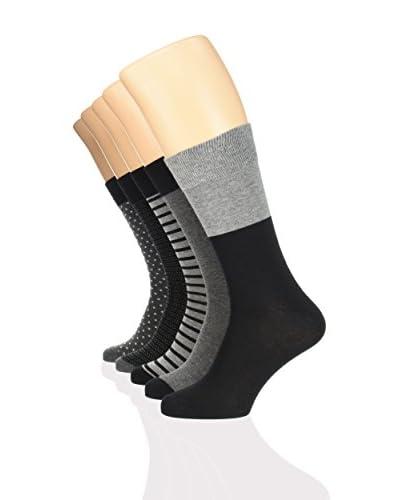 Springfield 10tlg. Set Socken schwarz