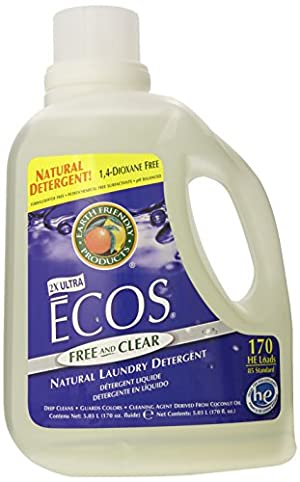 Earth Friendly Products Ecos Liquid Laundry Detergent, Free and Clear