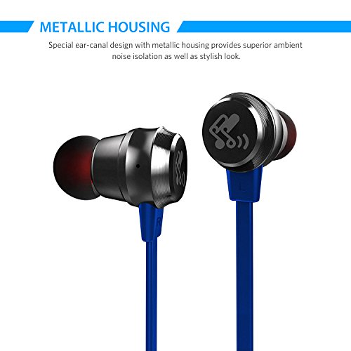 Metal earbuds noise isolation - earbud noise protection