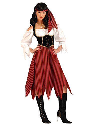 Forum Novelties Women's Adult Pirate Maiden Costume, Multi Colored, Standard