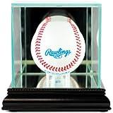 MLB Single Baseball Glass Display Case