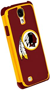 Forever Collectibles Washington Redskins Rugged Dual Hybrid Samsung Galaxy S4 Case by Forever Collectibles