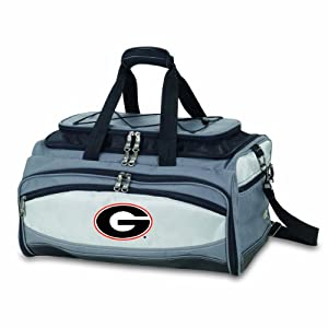 NCAA Georgia Bulldogs Buccaneer Tailgating Cooler with Grill by Picnic Time