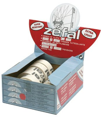 Zefal Bicycle Rim Tape, 17mm, Bulk Roll 100mm