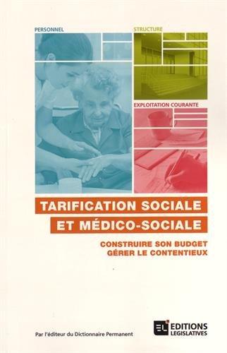 TARIFICATION SOCIALE ET MEDICO-SOCIALE
