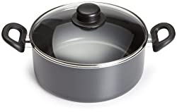 Good Cook Classic 4.7 Quart Covered Dutch Oven