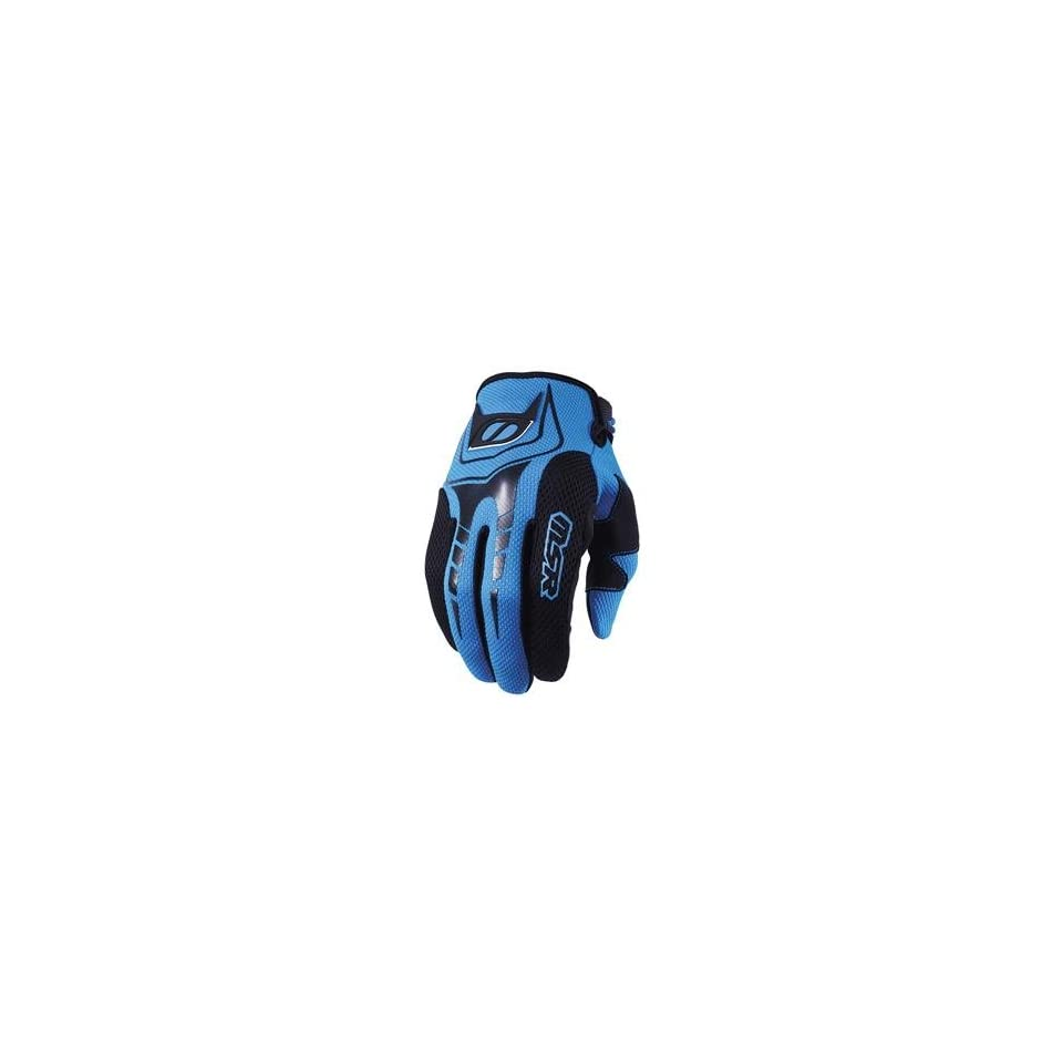 MSR Racing Axxis Gloves   Large/Black/Cyan