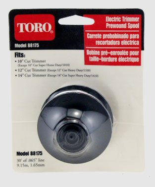 Toro 88175 Electric Trimmer Replacement Spool with .065-Inch-by-30-Foot Line