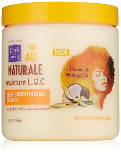 SoftSheen-Carson Dark and Lovely Au Naturale Moisture L.O.C. Deep Conditioning Delight, 14.4 oz (Dark And Lovely Moisture Loc compare prices)