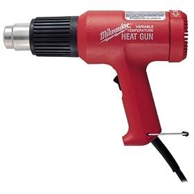 Milwaukee 8985 11.6 Amp 140/1040 Degree Fahrenheit Variable Temperature Heat Gun Kit