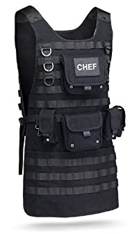 【並行輸入品】Tactical BBQ Apron (バーベキューエプロン)