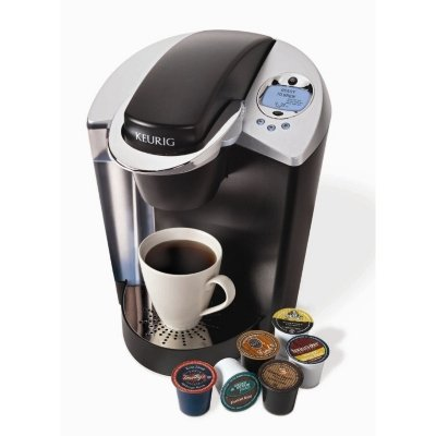 Keurig Brewer with My K-cup and 60 K-cups - CASE PACK OF 2