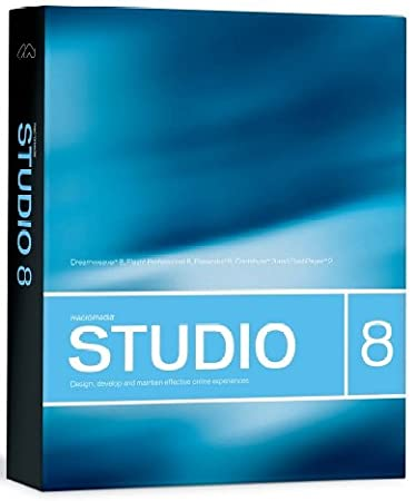 Macromedia Studio 8 Upgrade Win/Mac