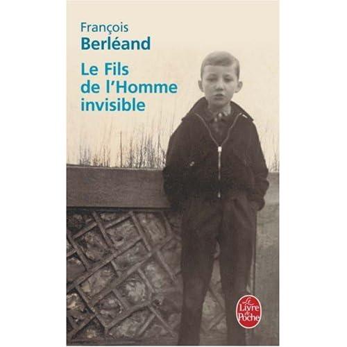Le fils de l'homme invisible - François Berléand 411VZ8SVfPL._SS500_