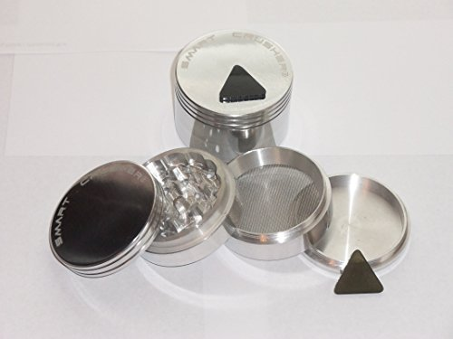 Why Should You Buy SMART CRUSHER® 2.5 4 part Large Aluminum Tobacco Herb Spice Grinder + Free Polle...
