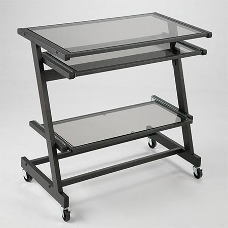 Buy Low Price Comfortable Zaki Computer Cart by ITALMODERN (B000BDLFZA)