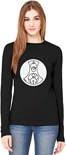Fuck You T-Shirt da Donna a Maniche Lunghe Long-Sleeve T-shirt For Women| 100% Premium Cotton| DTG Printing| Large