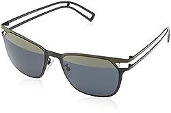 Police Unisex's Black Wayfarer Sunglasses Police-S8965-SNGH