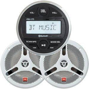 Jbl Mpk170 Stereo Package W/Prv170 Receiver & Ms6200Bw Speakers