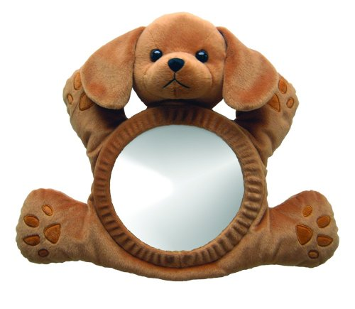 See Me Smile Infant Mirror Brown Puppy front-129997