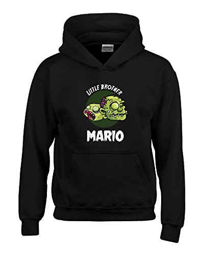 Halloween Costume Mario Little Brother Funny Boys Personalized Gift - Kids Hoodie