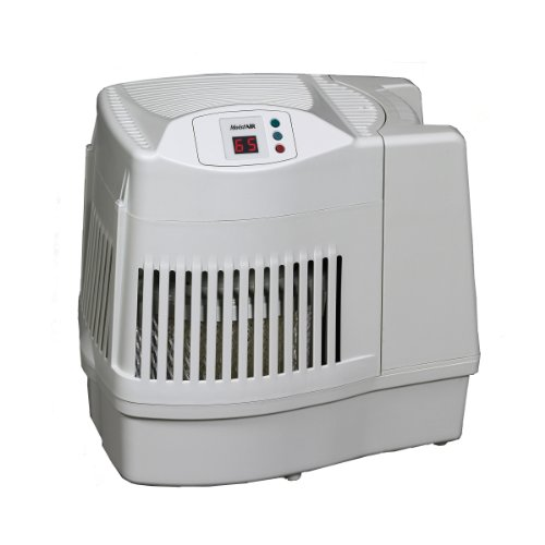 Essick Air MA0800 Digital Whole-House Console-Style Evaporative Humidifier, White