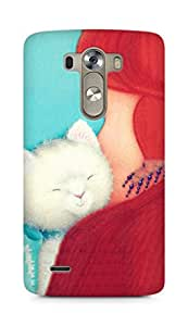 AMEZ Steve whitlow cat advocate Back Cover For LG G3
