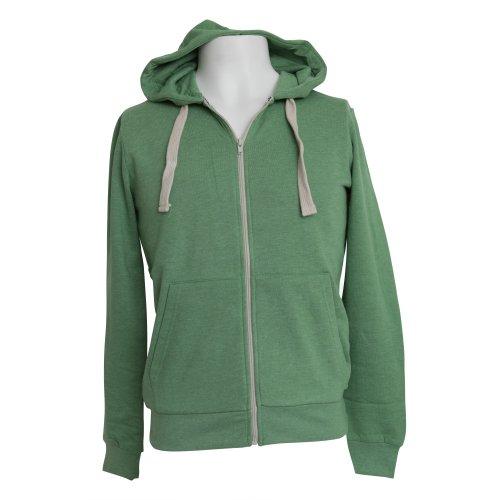 Brave Soul Mens Plain Hooded Sweatshirt Top/Hoodie