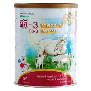 Dg-3 Advance : Goat Milk Powder Instant For Children 1+ Years And Everybody 800 G Best Seller Of Thailand