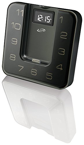 Ilive Icp391B Digital Clock With Fm Radio, Alarm And Ipod/Iphone Dock With Remote Control