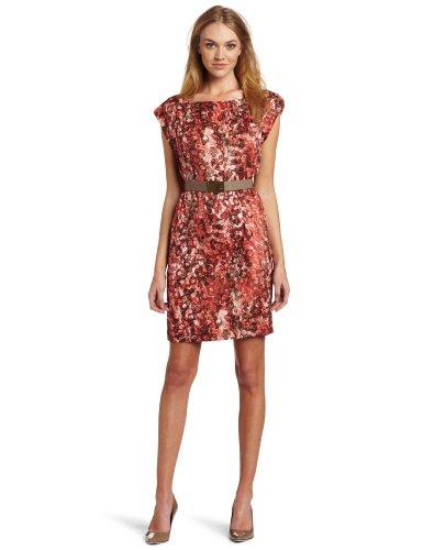 Anne Klein Women's Watermark Printed Dress